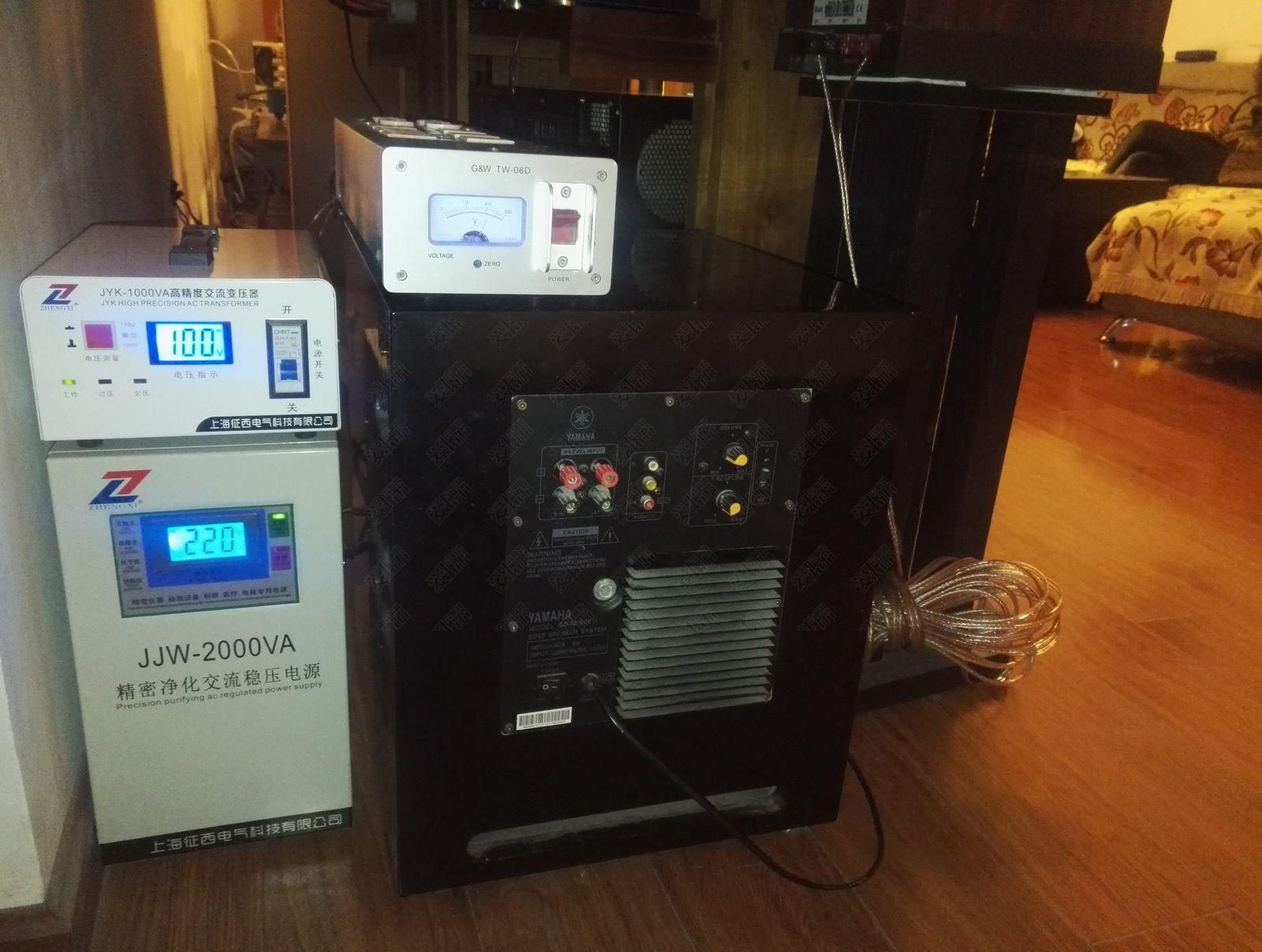 220V、100电源