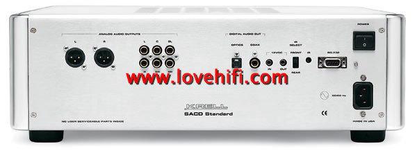 [评测] 音效俱臻精品标准的Krell SACD Standa