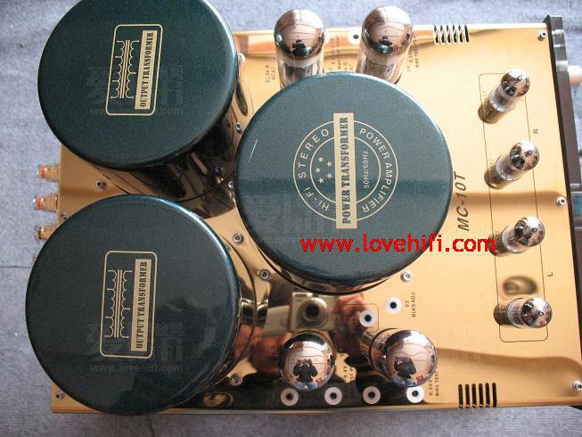 由于胆机通过输出变压器和扬声器相连,输出变压器可以看成一个电感